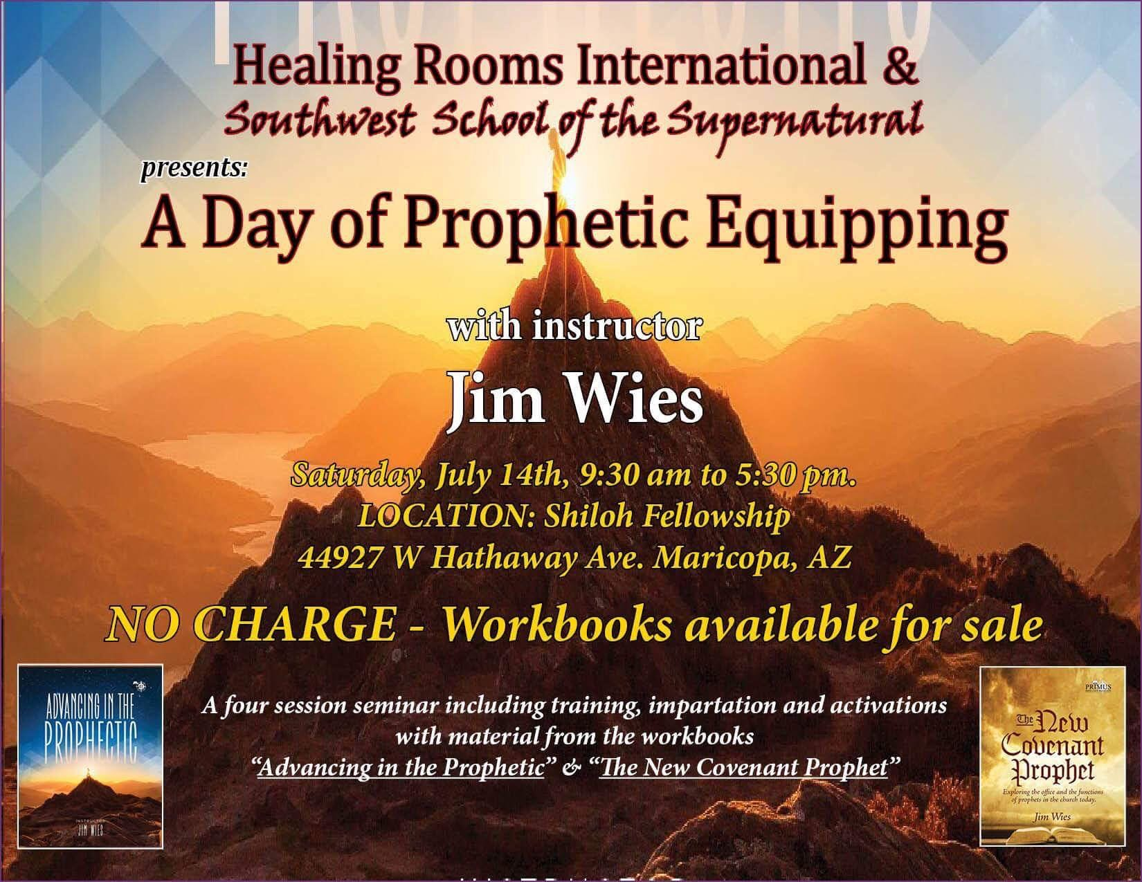 """A DAY OF PROPHETIC EQUIPPING"""" with PROPHET-PASTOR-TEACHER"""
