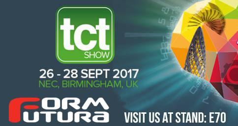 Formfutura - 3D Printer Filaments TCT Show 2017