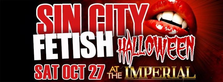 Fetish Halloween  presented by Sin City