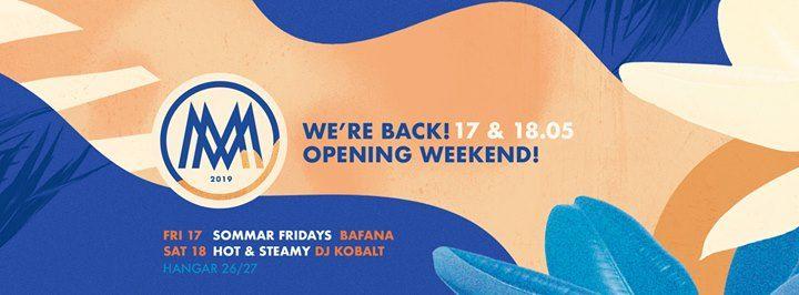 Opening Weekend  Were Back