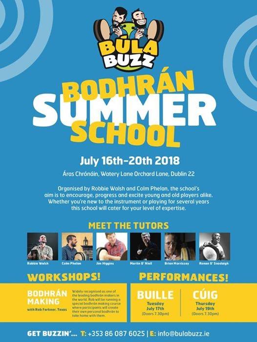 BulaBuzz Bodhran Summer School