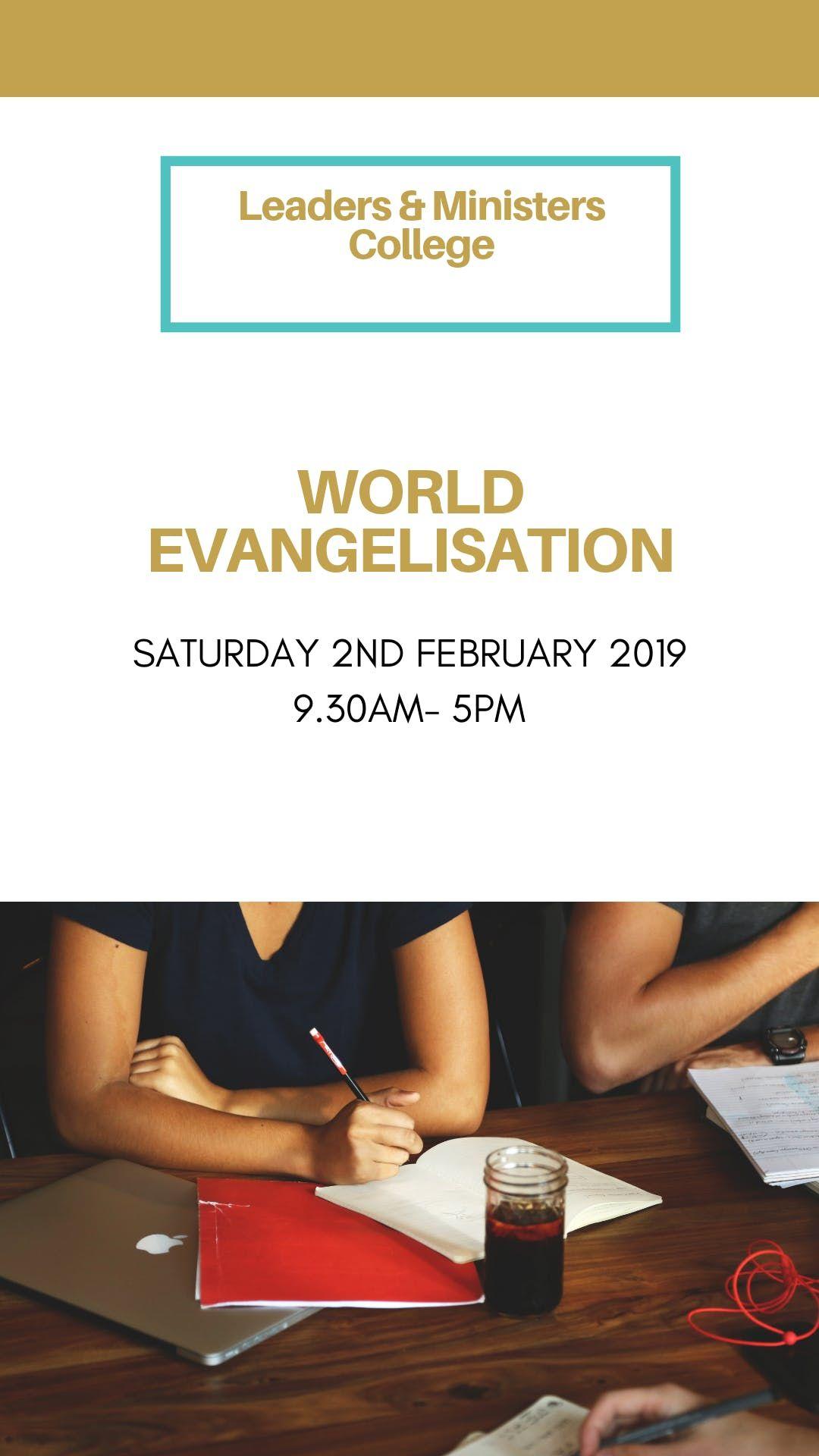 World Evangelisation  Module