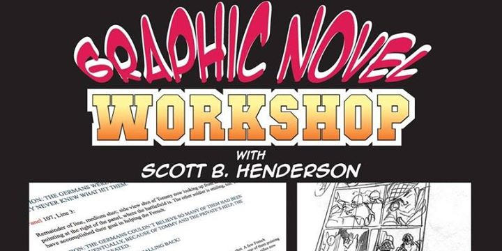 Graphic Novel Writing with Scott Henderson