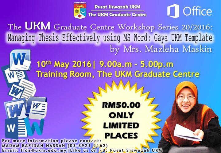 Master thesis ukm
