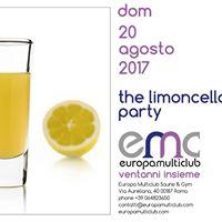 Europa Multiclub - The Limoncello Party - dom 20 agosto