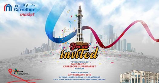 Carrefour Market Launch - Mall of Defence