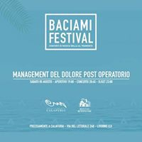 Management del dolore post-operatorio - Baciami Festival 2017