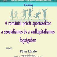 A romniai privt sportszektor a szocializmus s a vadkapitalizm