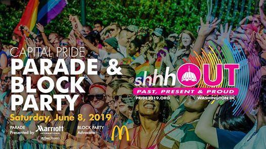 Capital Pride Parade & Block Party 2019