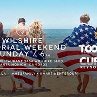 Wilshire is back Memorial Day weekend