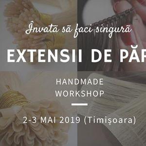 Workshop Handmade Extensii Păr At Karma Studio By Rea Timisoara
