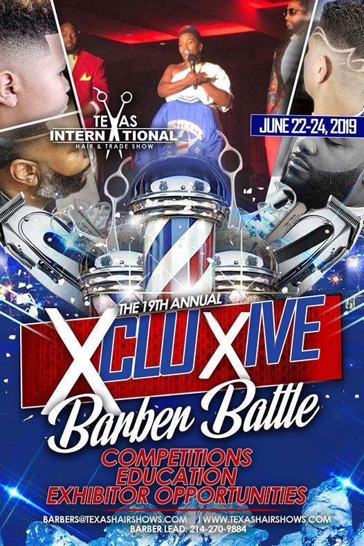 Xcluxive Barber Battle at Hampton Inn & Suites- Mesquite