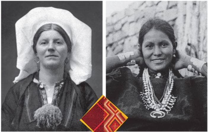 Tradicijsko tkanje Navajo Indijanaca i Konavoski vez