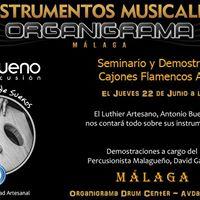 Seminario &amp Demo Cajones ABueno Percusin
