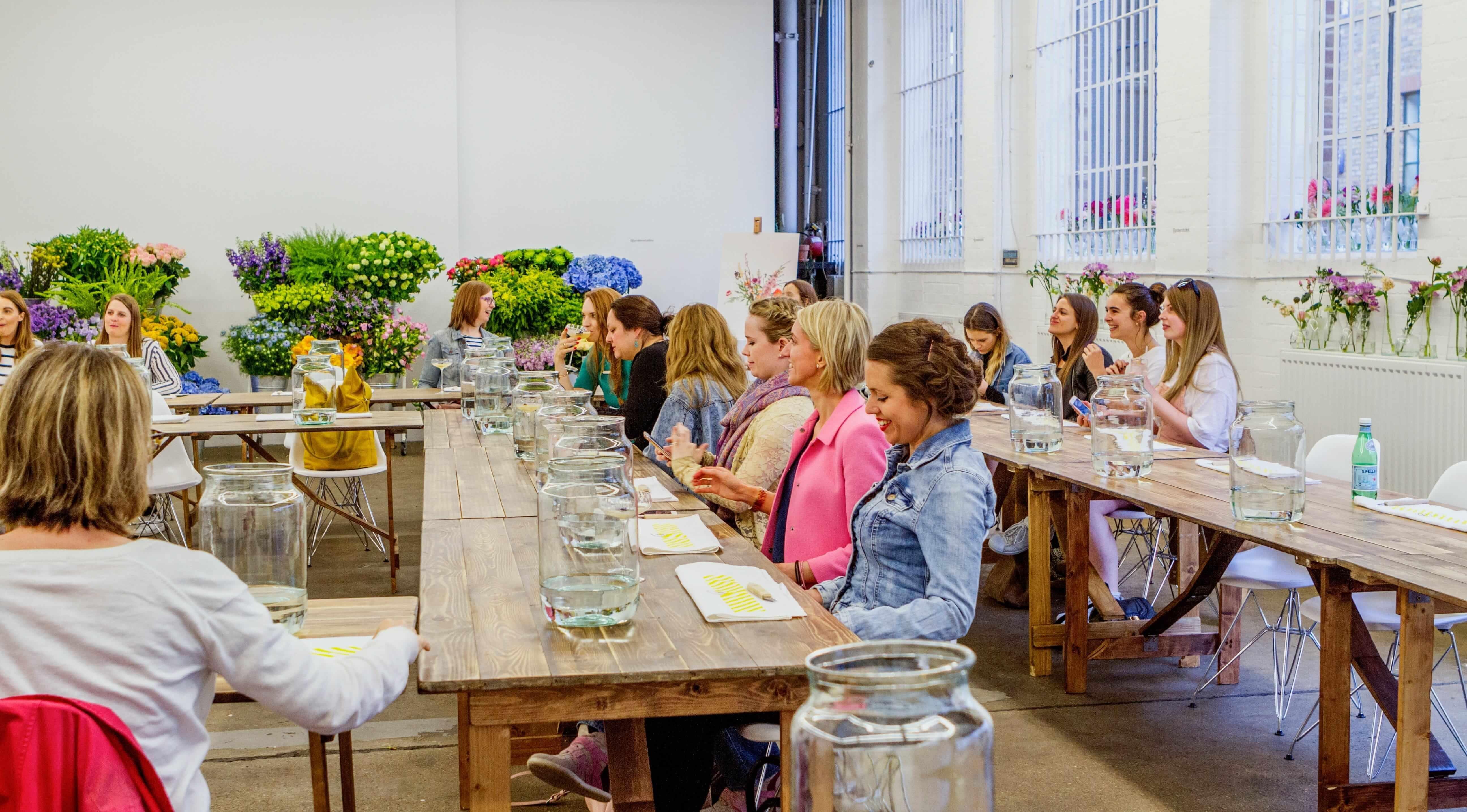 Bloomon Workshop 11 juli 2018  Gent STAMcaf