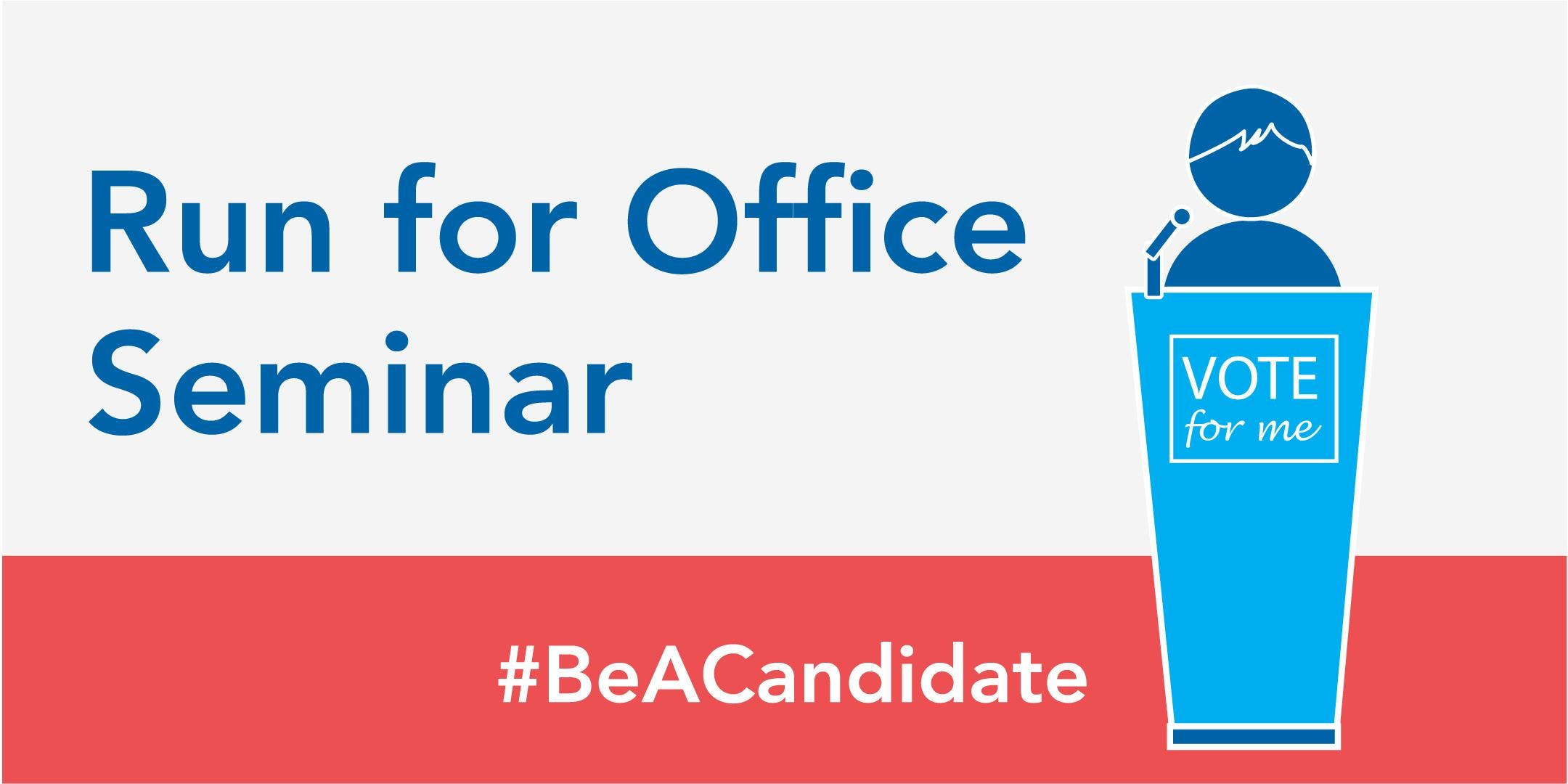 How To Run For Office Seminar At Ccri Knight Campus Room 1128 1130