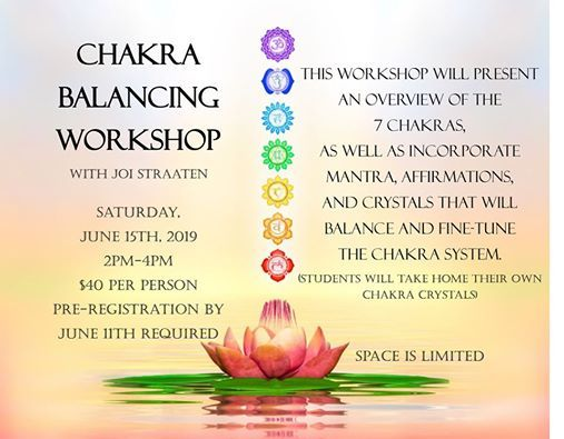 Chakra Balancing Workshop at Mountain Yoga Sandy, Sandy
