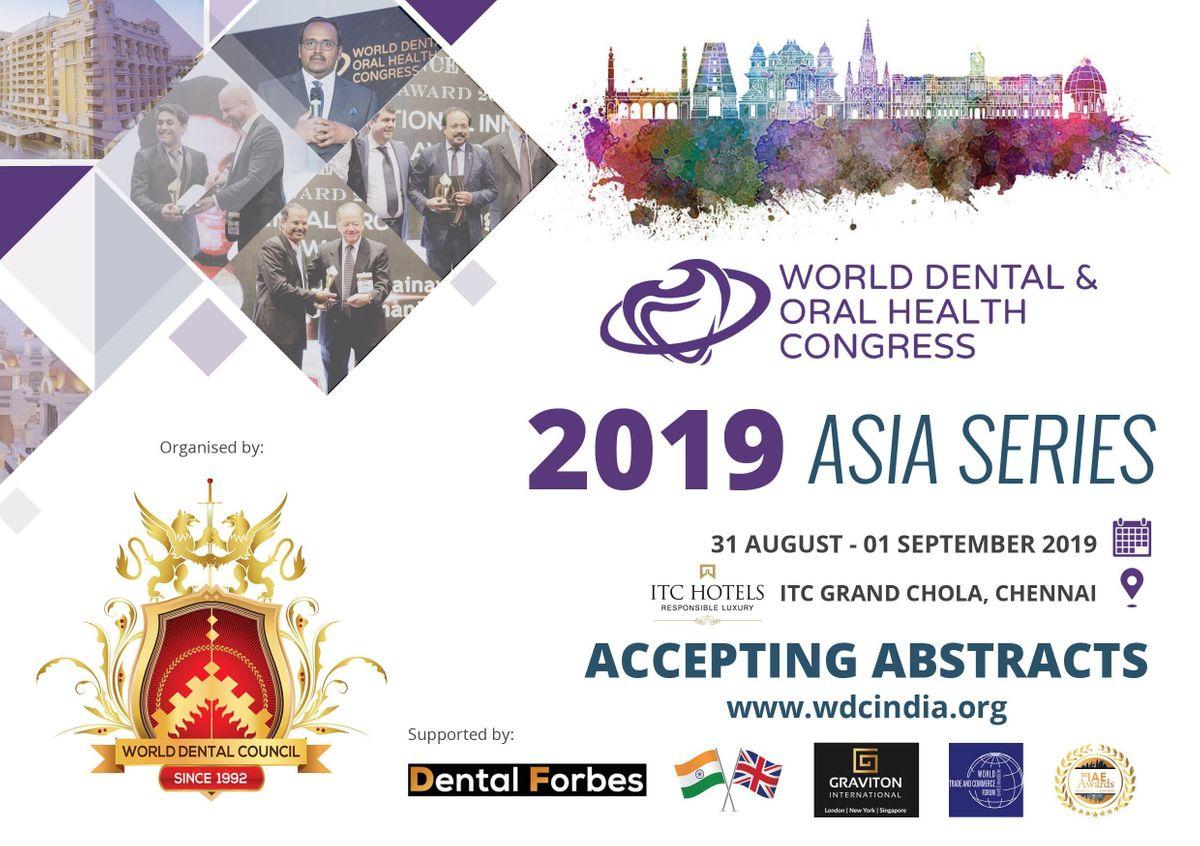 World Dental and Oral Health Congress 2019 India