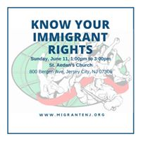 Know Your Immigrant Rights Workshop