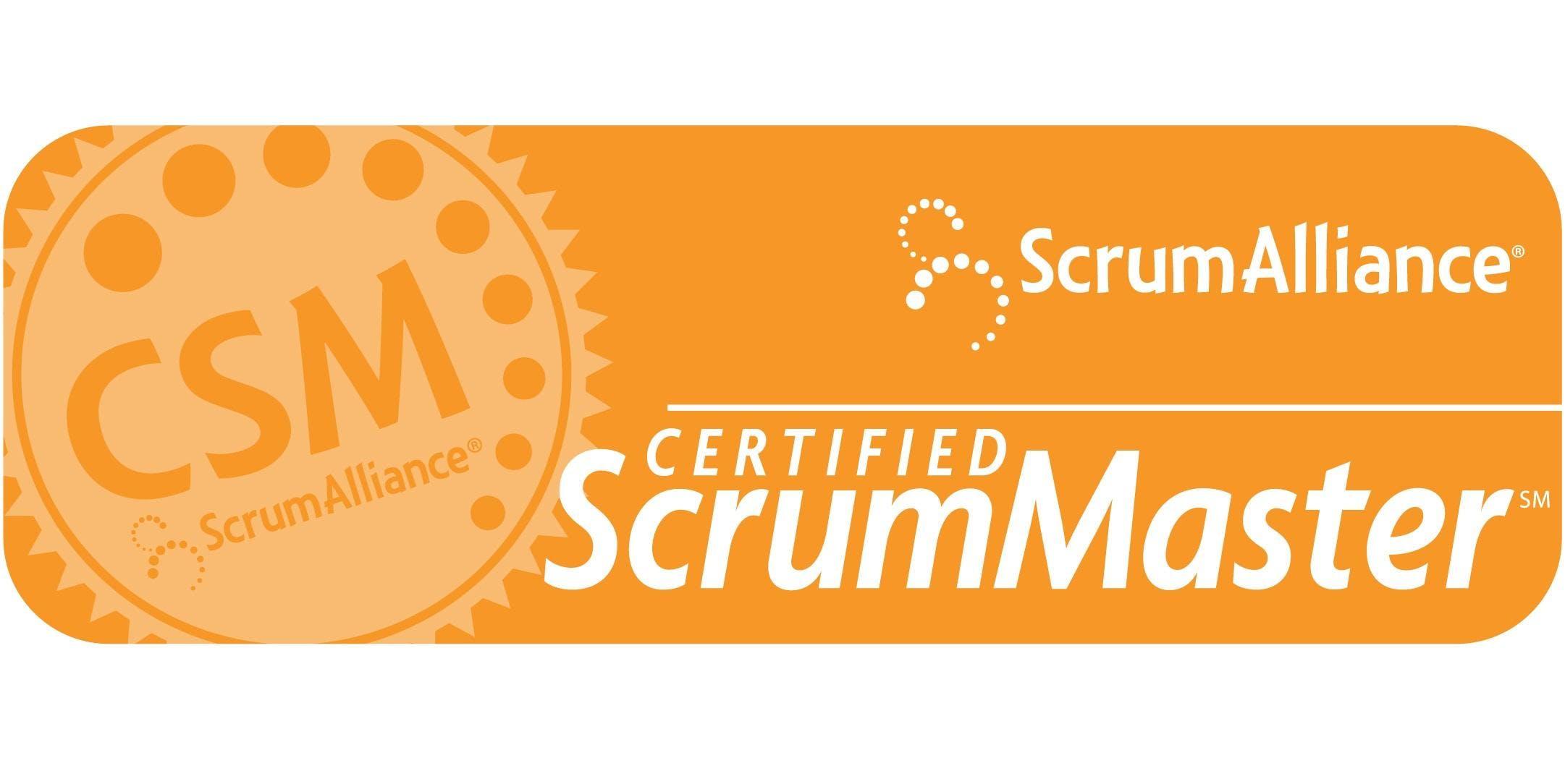 Certified Scrummaster Training Csm Training 10 11 May 2018