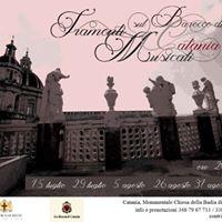 Tramonti Musicali sul Barocco di Catania - Edizione 2017