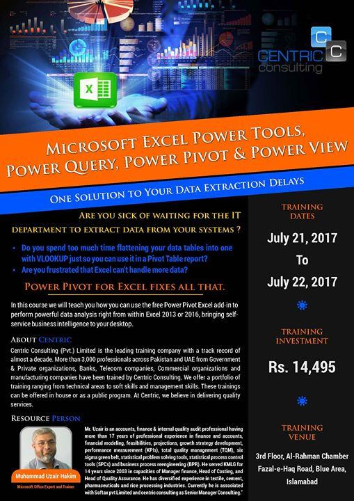 Microsoft Excel Power Tools at Muhammad Uzair Hakim