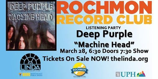 Rochmon Record Club Listening Party Deep Purple - Machine Head