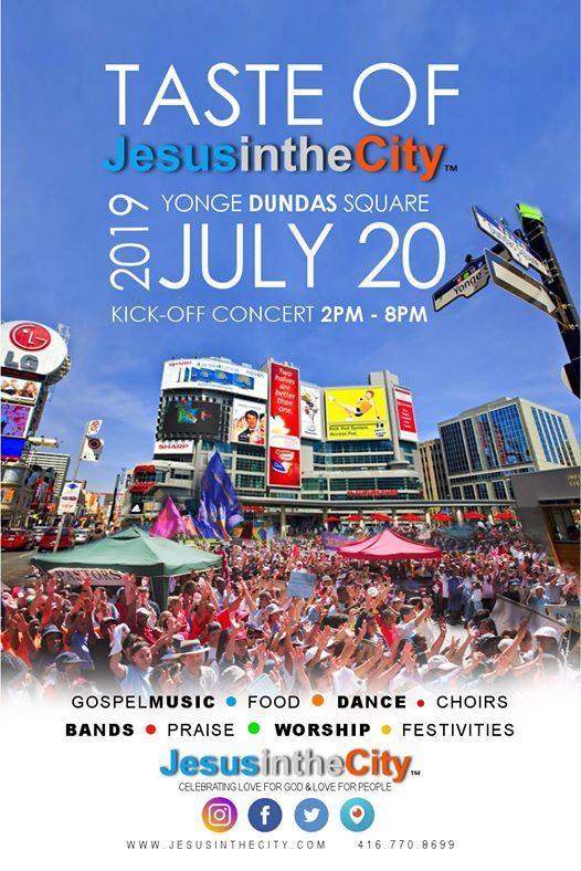 2019 Taste of Jesus in the City Concert  Fest