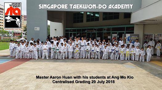 Centralised Grading 27 Jan 2019  Singapore Taekwon-do Academy