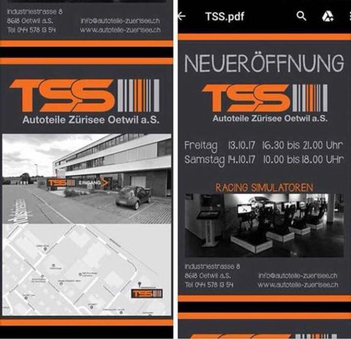 Eröffnungsveranstaltung Autoteile Zürisee TSS at Oetwil am See ...