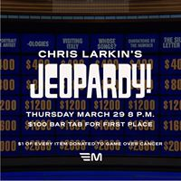 Jeopardy at Mercury with Host Chris Larkin