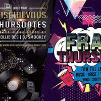 Mischievous x Frat Thursdates Thursday 16th November