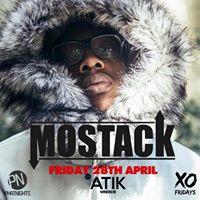 MoStack Live  Friday 28th April  Atik Windsor PhatNights