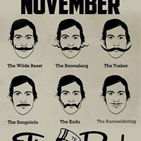 Movember Stache Bash with The Spazmatics