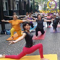 Yoga On Top aux Jardins du Marais
