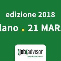 Bio Pharma Day  Milano 2018