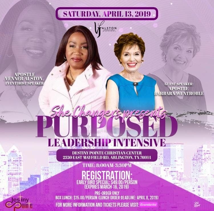She Changers Presents... Purposed - Leadership Intensive