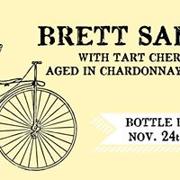Black Friday Funky Ride Release Brett Saison Cherry