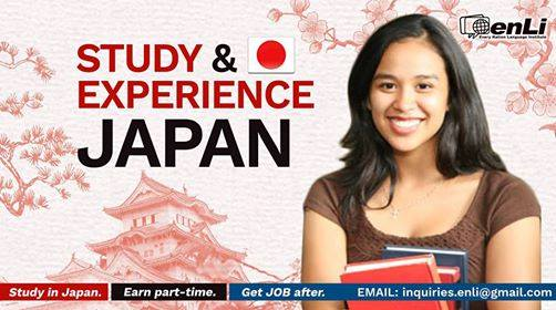 Study, Earn, & Live in Japan! Free Orientation for Study