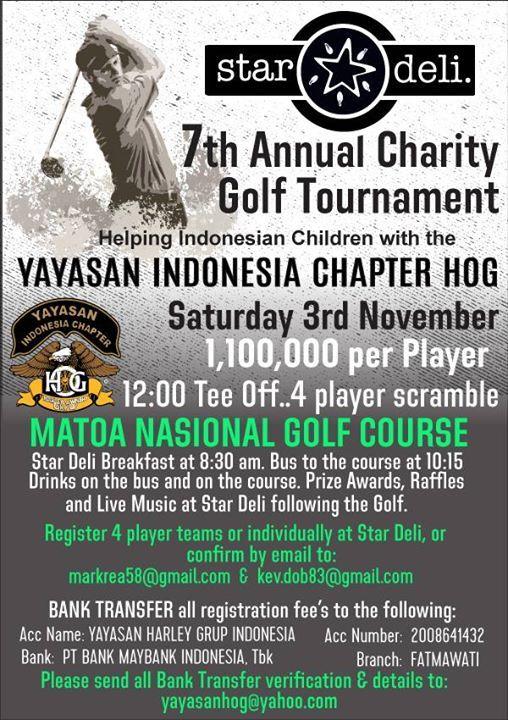 7th Annual Star Deli Charity Golf Tournament