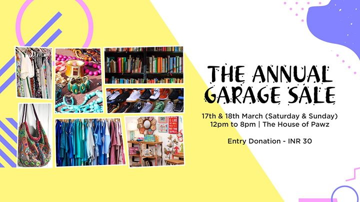 World For All Annual Garage Sale
