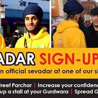 Sevadar Sign-Up Day - Birmingham