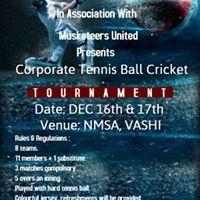 Corporate Tennis Cricket Tournament