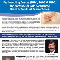 Dry Needling Course for Myofascial Pain Syndrome (DN 3)