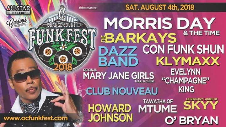 OC Funk Fest 2018