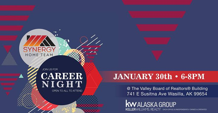 Synergy Home Team Career Night At The Valley Board Of Realtors