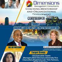 Dimensions CoachingMentorship &amp OD Conference 2017