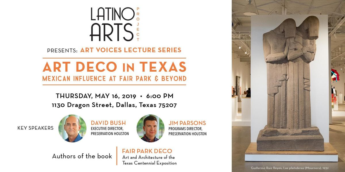 LAP Art Voices Lecture Series - Art Deco Movement in the Americas