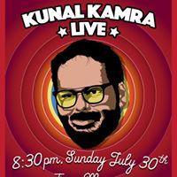 Comedy Night ft. Kunal Kamra Live at Terra MayaaSun 31st July