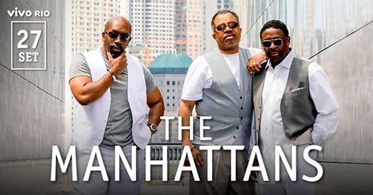 The Manhattans  27 SET no Vivo Rio